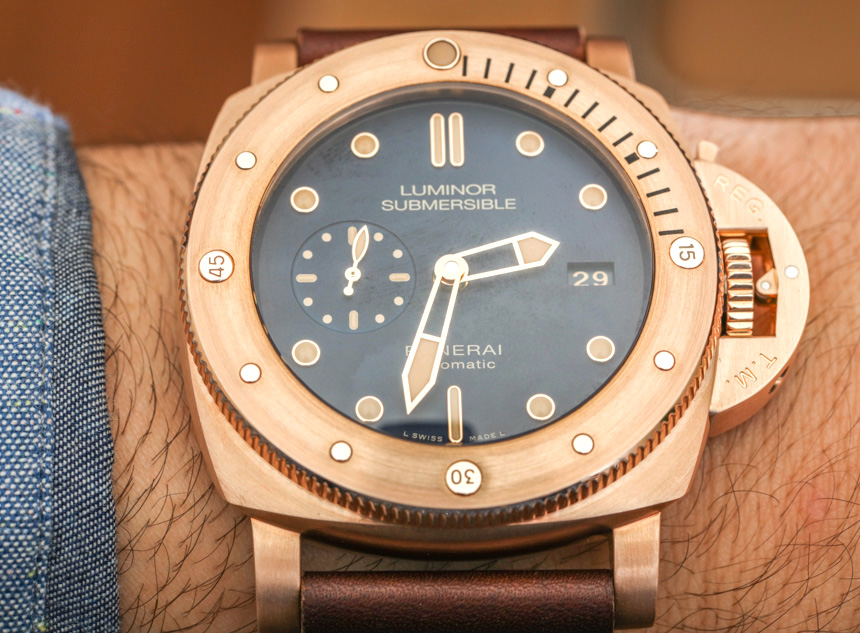 Orologi Panerai Luminor Submersible 1950 3 Giorni Automatico Bronzo PAM 671 Replica