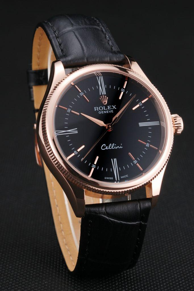 Rolex Cellini Replica Vista Laterale