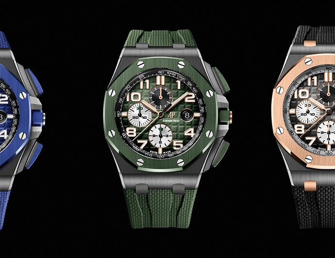 Nuova Replica Audemars Piguet Royal Oak Offshore Chronograph in cassa in ceramica nera