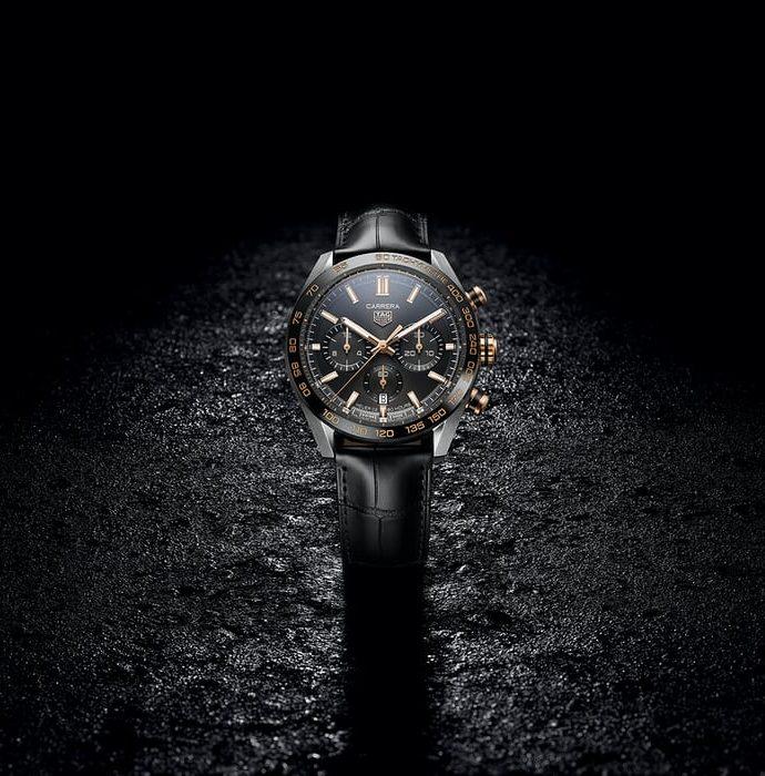 Repliche Cronografo TAG Heuer Carrera Sport 44mm calibro Heuer 02 automatico