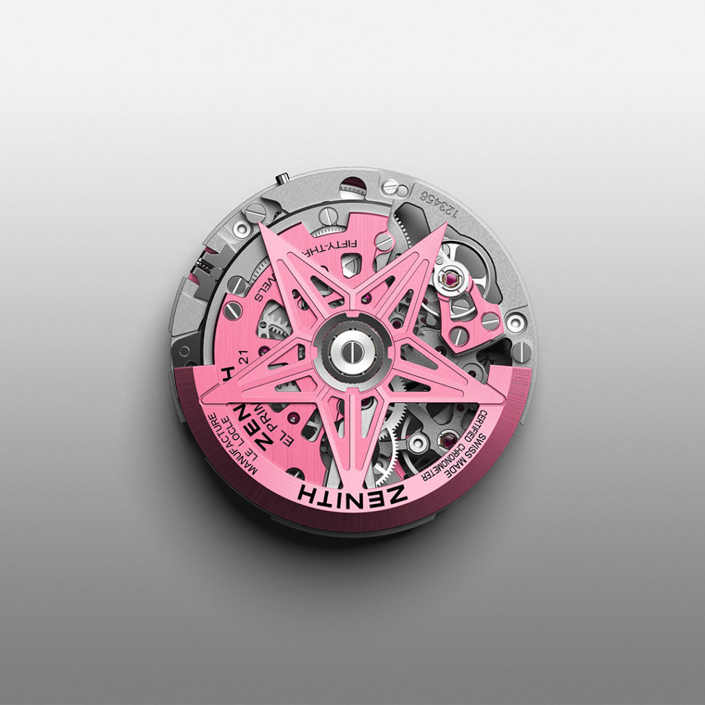 Zenith Defy 21 Pink Edition Replica