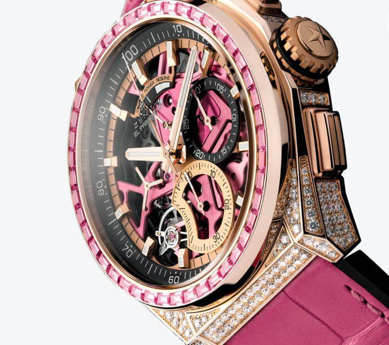 Presentazione Dello Replica Zenith Defy El Primero 21 Pink Edition
