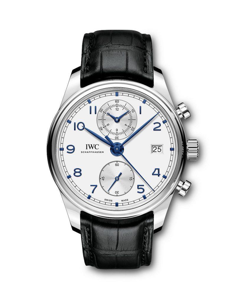 IWC Portugieser Chronograph Classic Quadrante Bianco